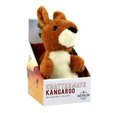 ChatterMate Kangaroo Plush Toy Talking Copies What You Say Australia Souvenir