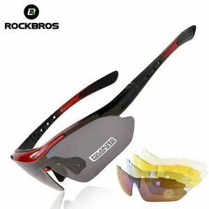 ROCKBROS Polarized Sunglasses Outdoor Cycling UV400 Goggles Eyewear AU Stock
