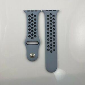 Original Apple watch Nike Sport Band 38mm 40mm 41MM Obsidian Mist/Black Pin + SM