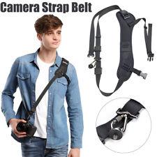 Quick Rapid Shoulder Neck Sling Strap Belt Adjustable For DSLR SLR Camera DV New