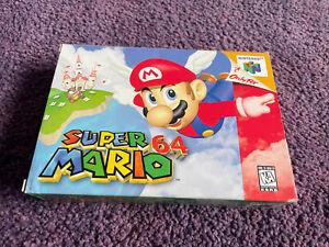 Super Mario 64 Nintendo 64 USA NTSC - Boxed & Complete