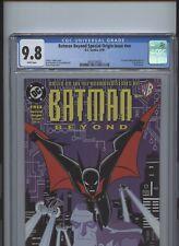 Batman Beyond Special Origin Issue #nn CGC 9.8 1st comic book app McGinnis Promo