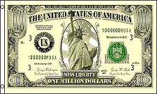 Million Dollars Flag 3x5 Polyester Money Bank Note