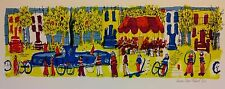 "Susan Pear Meisel ""Balducci's Fruit"" signed and numbered lithograph"