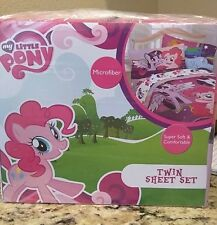 NEW MY LITTLE PONY FRIENDSHIP TWIN SHEETS 3PC BEDDING SET in original package