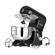 CHEFTRONIC Tilt-Head Electric Multi-functional Kitchen Stand Mixer 5.5qt Black