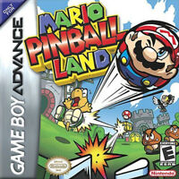 Mario Pinball Land • Nintendo GameBoy Advance GBA [Cart Only] Super Mario Ball