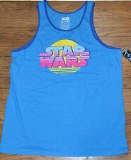 Star Wars Logo Tank Top Men Officially Licensed Star Wars Sleeveless T-Shirt Tee