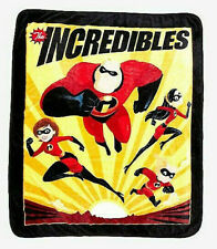 Disney's Pixar's The Incredibles Family Large 50in x 60in Throw Blanket