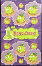 Dr. Stinky's Scratch & Sniff Stickers - Sour Apple - Excellent!!