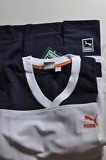 Puma Men's long Sleeve Shirt Bball white/blue size Small