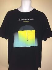JIMMY EAT WORLD  DAMAGE 2013 XL   T SHIRT   ROCK OUT OF PRINT