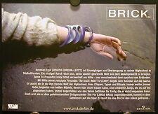 Brick (2005) German Lobby Card Set JOSEPH GORDON-LEVITT