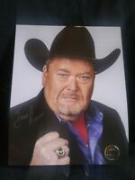 Jim Ross Autograph WWE Pro Wrestling Crate Exclusive 8x10 WWF NXT AEW WCW NWA