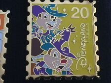 Disney DLP 20th Anniversary Pin Chip & Dale Stamp