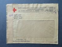 Netherlands WWII POW Censored Red Cross Cover - Z8056