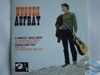 HUGUES AUFRAY A BIENTOT NOUS DEUX CD SINGLE EP