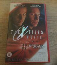 THE X-FILES MOVIE  VHS VIDEO SPECIAL EDITION DAVID DUCHOVNY GILLAN ANDERSON