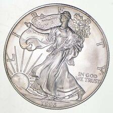 Rarest 1996 American Silver Eagle - Key Date - Rare LOW MINTAGE Unc BU