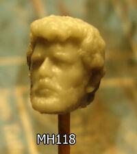 "MH118 Custom George Lucas head cast for use with 3.75"" Star Wars GI Joe figures"