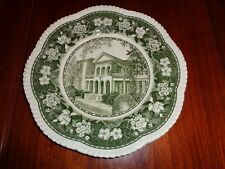 Wedgwood Dinner Plate SWEET BRIAR HOUSE - SWEET BRIAR COLLAGE Green And White