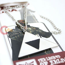 Legend of Zelda Triforce Necklace Costume Cosplay Metal Necklace