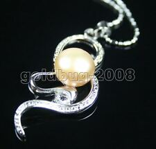 FRESHWATER CULTURED PEARL PENDANT/NECKLACE -18KGP