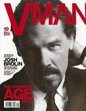 V MAN Magazine VMAN #19 F/2010 JOSH BROLIN Aaron Johnson HARRISON GILBERTSON New