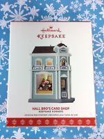 Hallmark Ornament 2017 Hall Bro's Card Shop Keepsake Korners