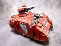 Warhammer 40k Space Marines Blood Angels Razorback Magnetized Alt Turrets
