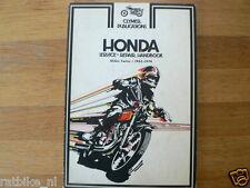 HONDA SERVICE REPAIR HANDBOOK 450 TWINS 1965-1974 CLYMER MOTORCYCLE