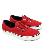 Vans Off The Wall Mens Shoes Size 7 / Womens 8.5 Red White Low Top
