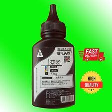 More details for toner powder (black) for hp laserjet/canon laser printers - 100g. free p&p.