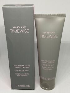 Mary Kay 3D TimeWise Age Minimize Night Cream-Normal to Dry Skin- FREE SHIPPING!