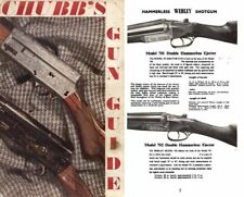 Chubb's 1966-67 Gun Guide, Edgware, Mddx, UK