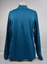Patagonia Women's CAPILENE Midweight Zip Neck - NEW XL Underwater Blue **SALE**