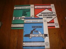 Chrysler Master Technicians Service Conference Reference Book 63-7 63-8 63-9
