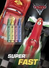 Super Fast (Disney/Pixar Cars 2) (Color Plus Chunky Crayons)
