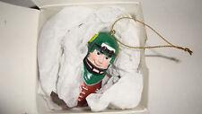 University of Oregon Ducks Football Player Christmas Ornament w/box by Cardworks