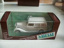 """Vitesse Mercedes 170 V """"Nederlansche Roode Kruis"""" in White on 1:43 in Box"""