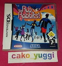 THE RUB RABBITS ! NINTENDO DS TRES BON ETAT VERSION 100% FRANCAISE