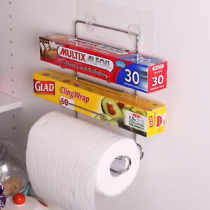 NEW White Magic i-Hook Kitchen Pantry Organiser for Wraps and Paper Towel