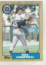 FREE SHIPPING-MINT-1987 Topps (TIGERS) #674 Bill Campbell