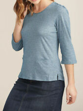 Seasalt Scoop Neck Striped Tops & Shirts for Women