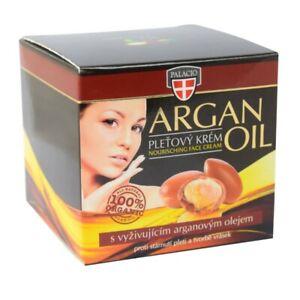 Natural Argan Oil Face Cream Nourishing Skin Hands Nail Palacio 100% Organic