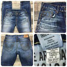True Religion Ricky No Flap Cable Stitch Jeans Men's 32x33 100% Cotton EUC!
