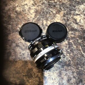 Nikon Camera Lens Made In Japan View Images For Specific Information Vgc