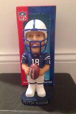 Peyton Manning Indianapolis Colts NFL Quarterback Club Bobblehead Denver Broncos
