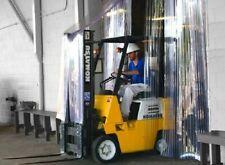 8 X 8 Industrial Strip Curtain Door Cooler Freezer Dock Vinyl Walk In Pvc