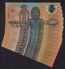 Australia R-310b. 1988 Bi-Centennial 10 Dollars.. 2nd Printing x 11 Notes